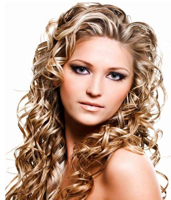 Layered perm hairstyles | Long hair perm, Permed ...
