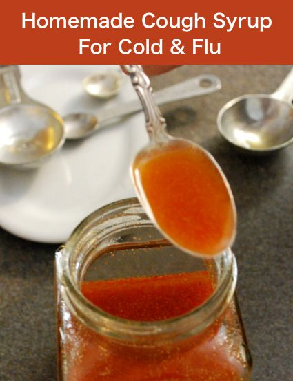 How To Make A Homemade Syrup For Cold & Flu