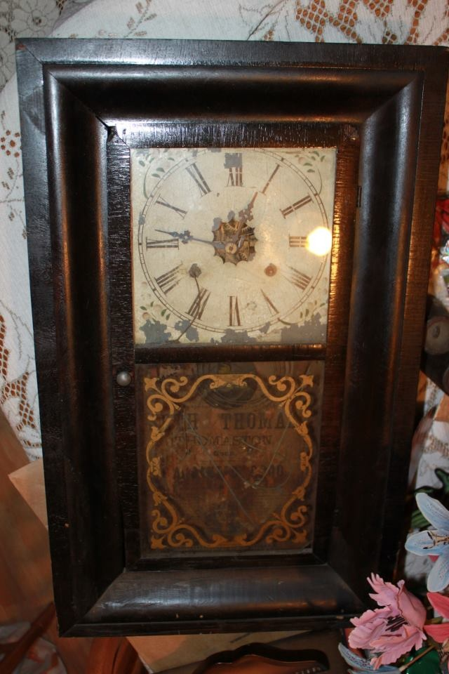 17 Best Images About Antique Seth Thomas Ogee Wall Mantle