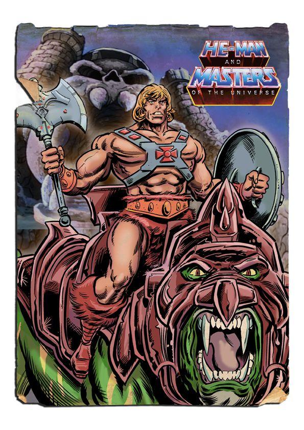He-Man - From the Vaults of Grayskull by Simon-Williams-Art.deviantart.com on @DeviantArt  #HeMan #MastersOfTheUniverse #MotU