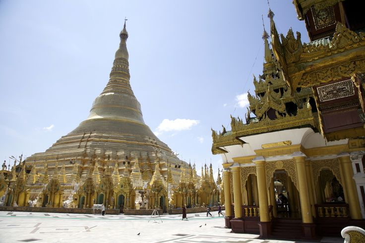 Shwedagon Pagoda - Taken by Top Gear Special Burma crew