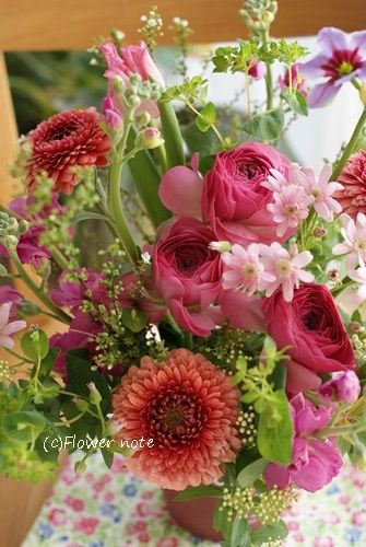 ■Flower noteのこと■ ■ フラワーギフトのご注文方法■ ■Flower noteの作品集■ ■小さなお花の教室 」■ ■現在募集中…
