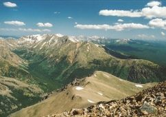 Mt. Elbert, tallest mountain in CO