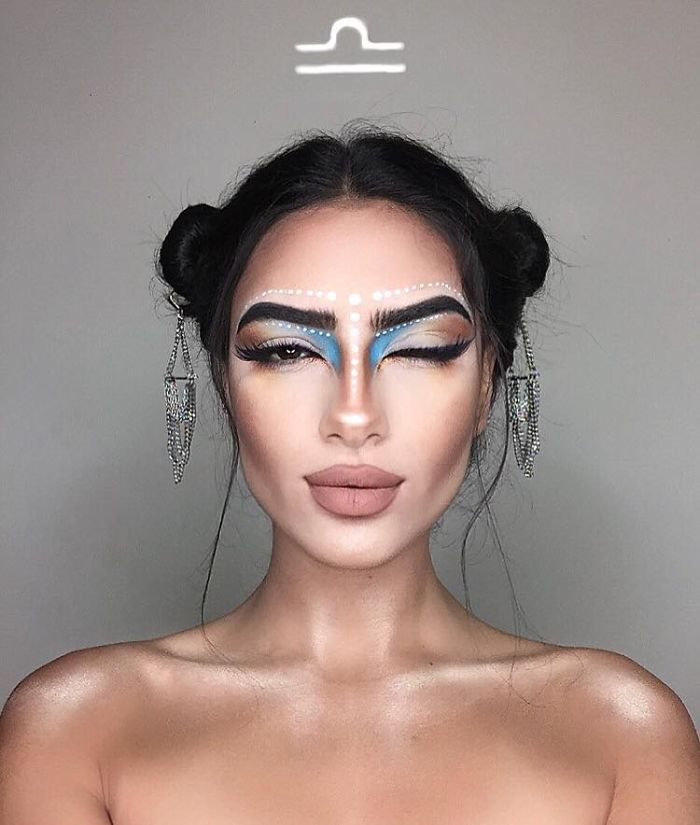 12 Makeup Looks For Each Zodiac Sign - Libra