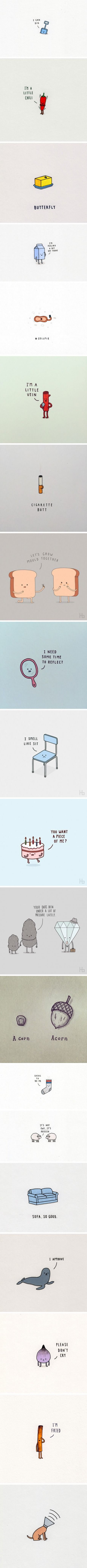 This Artist Makes Minimalist Illustrations To Make You Smile
