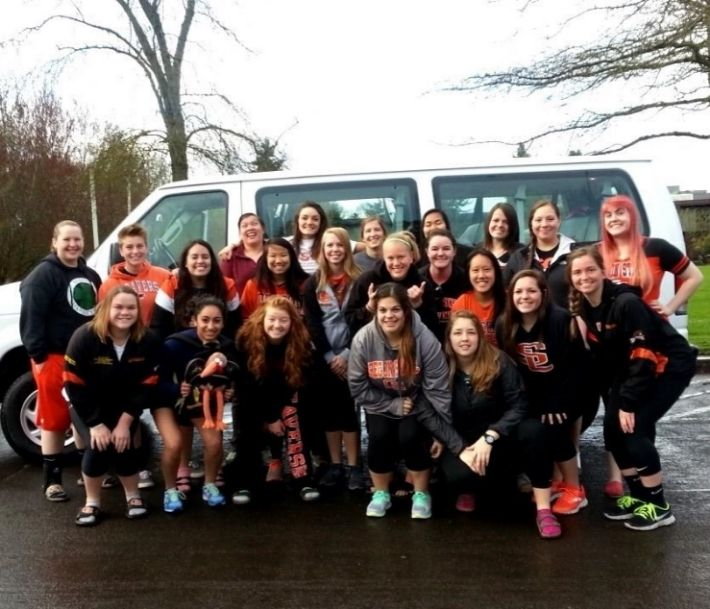 Oregon State Women S Rugby Women S Rugby Club Student Organization Womens Rugby Rugby Club