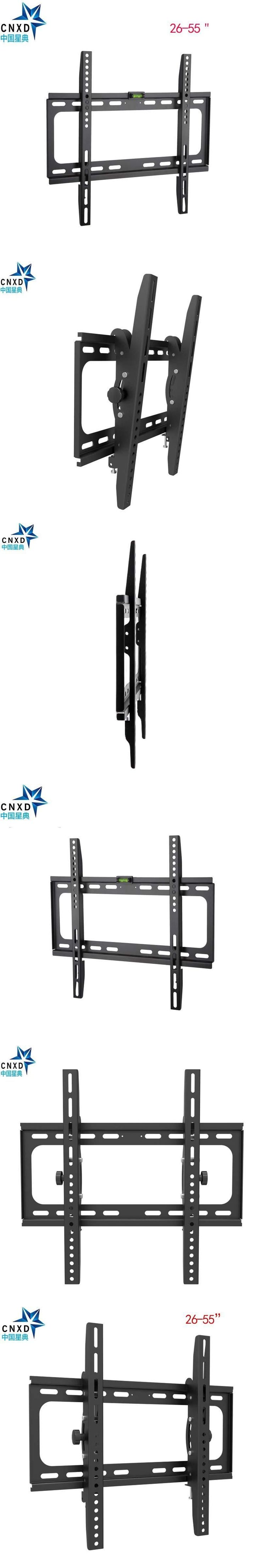 Articulating Tilting 15 degree TV Wall Mount Bracket for26-55 Inch LED LCD Plasma TV VESA 400 x 400mm 110lbs Loading Capacity