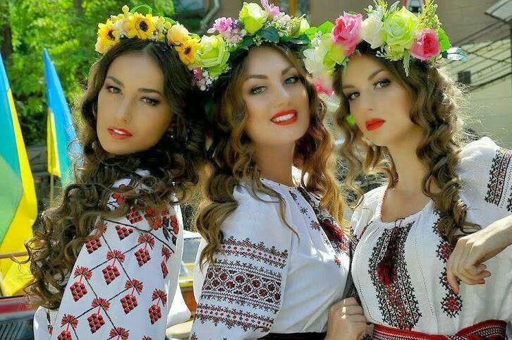 Красуні українки
