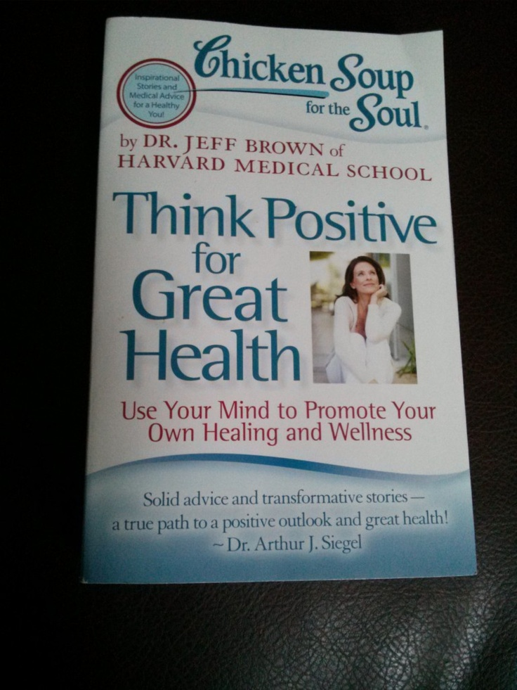 Chicken Soup for the Soul Think Positive for Good Health Review and Giveaway - http://smslwithheidi.com/2013/03/chicken-soup-for-the-soul-think-positive-for-good-health-review-and-giveaway.html