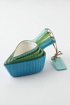 Spades Measuring Cups - contemporary - kitchen tools - Anthropologie