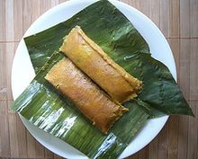 Puerto Rican pasteles: food that is more than food. It is history, culture and language with each turn of el cucharon and each length of string. It is family cooking together. Telling stories and sharing jokes. It is sitting down to a delicious meal of memories. Wrapped in white paper or ojas de platano, pasteles are what familia is all about. Yolanda Rodriguez