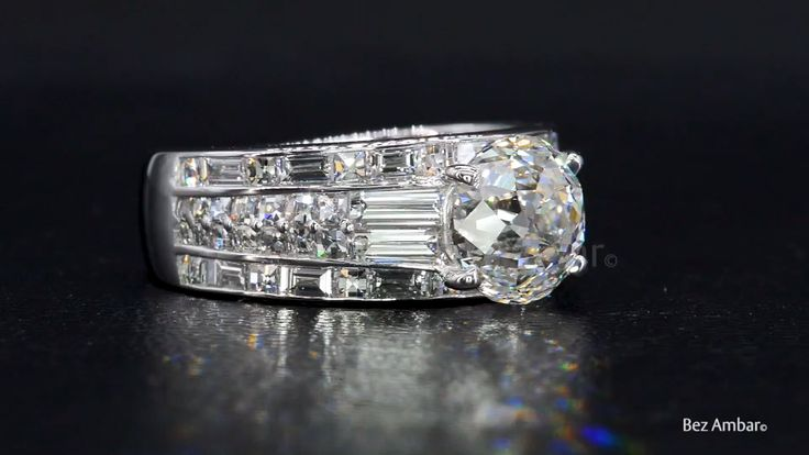 A Stunningly Unique Diamond Engagement Ring from Bez Ambar