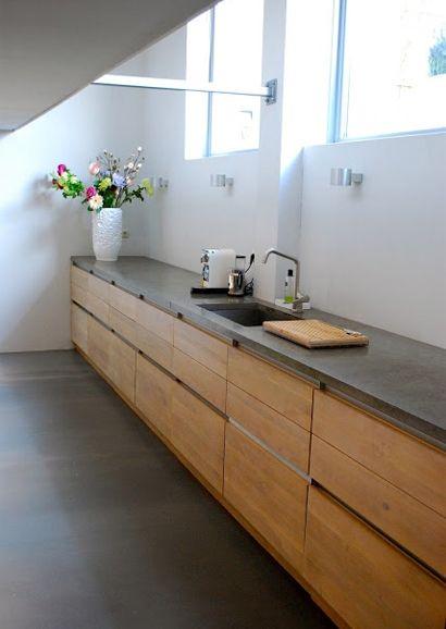keuken met beton look - Google zoeken
