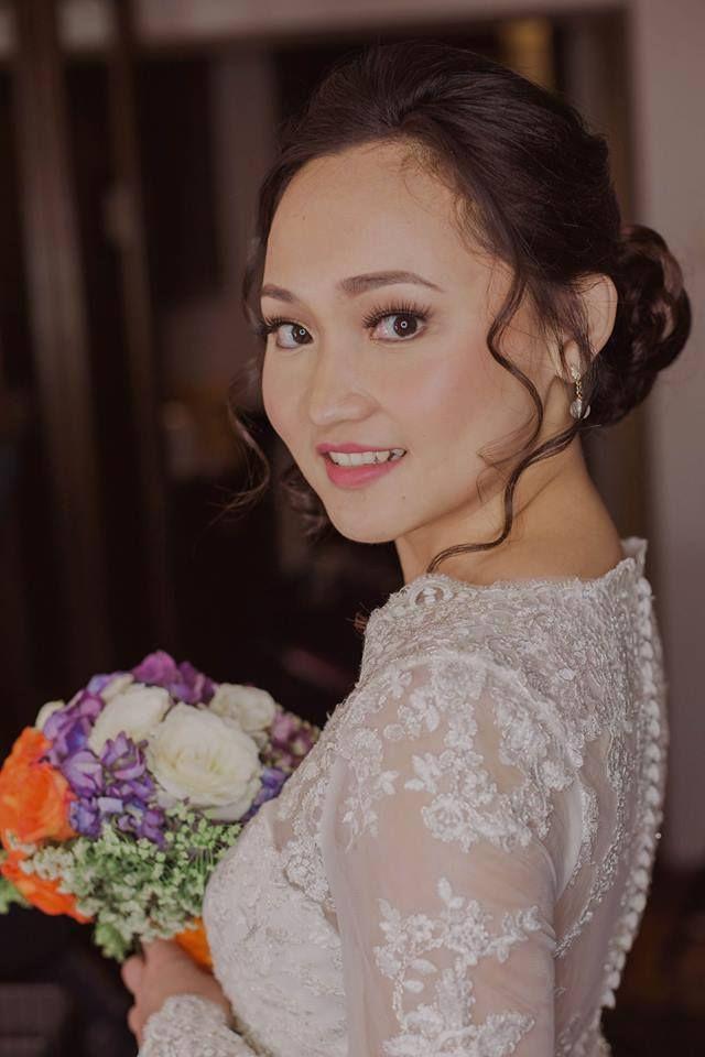 All About Beauty Be A Stunner With Hair Make Up By Mel Cruz Bridalhmua Bridalmakeup Melcruz 121818 Hair Makeup Bridal Hair Philippine Wedding