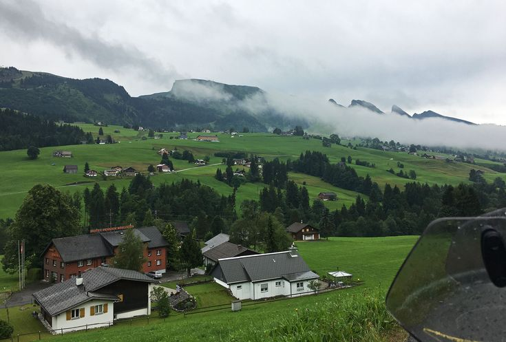 WIldhaus in Switzerland, nothing wild about this place but pretty it is :)