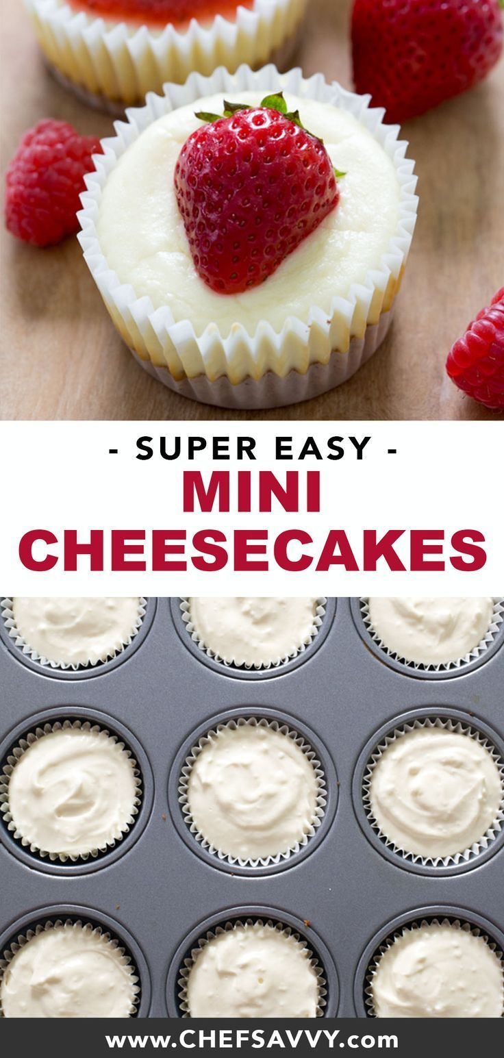 Mini Cheesecake Cupcakes Recipe Cheesecake Cupcakes Mini