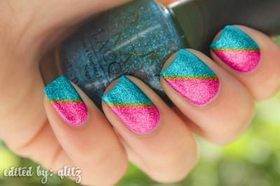 Great nail art idea for back to school!