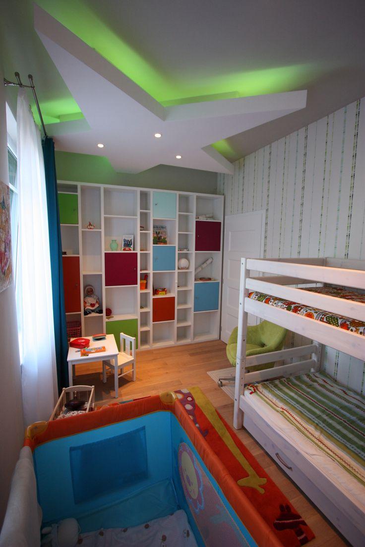Gyerekszoba különleges álmennyezettel / Kids room with special ceiling