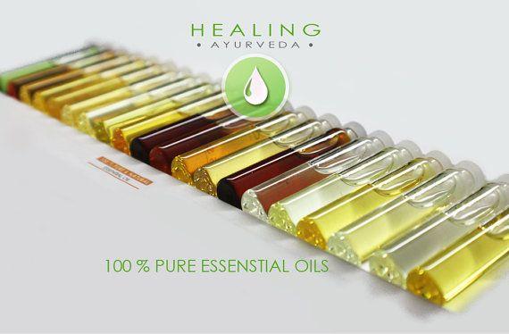 Pure Essential oils kit Aromatherapy oils set par FairOrganic