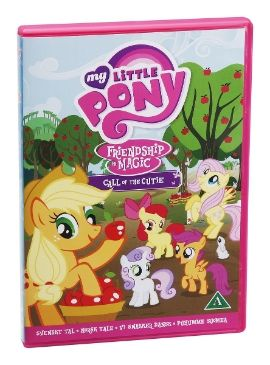 My Little Pony Call Of The Cutie DVD