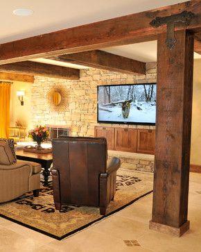 Lower Level Suite farmhouse basement