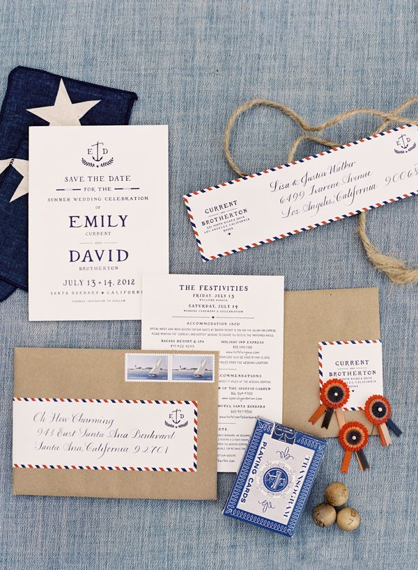 avery address labels wedding invitations%0A Emily Current and David Brotherton  Dos Pueblos Ranch Wedding     Photography by Jose Villa  The invitations to set the tone