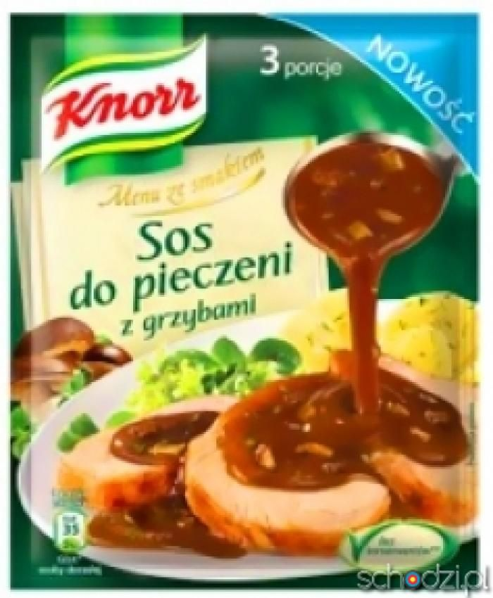 Pieczeniowy Sos z Grzybami Knorr 29g - Schodzi.pl