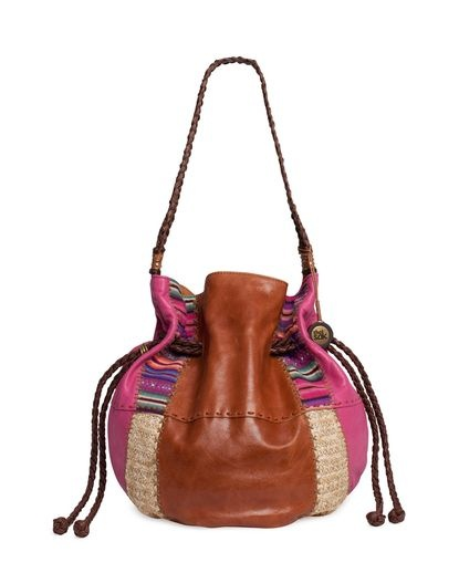 Indio Drawstring Tote - Patched
