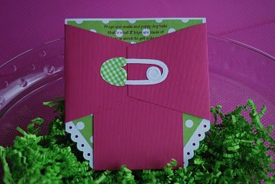 Pink and Green Baby Shower Ideas