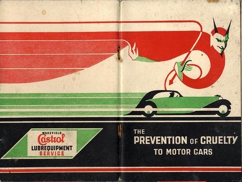 Castrol Booklet - Ashley Havinden