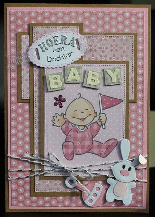 Hallo blogmaatjes !   Jullie gaan hier waarschijnlijk een aantal babykaarten zien passeren. Ik heb een aantal must-do's op mijn lijstje staa...