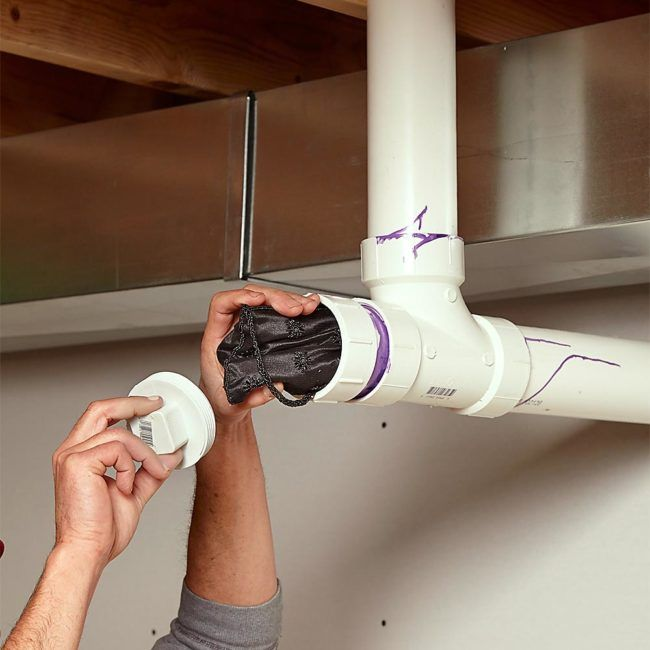 Install some non-functioning PVC pipe in the garage.