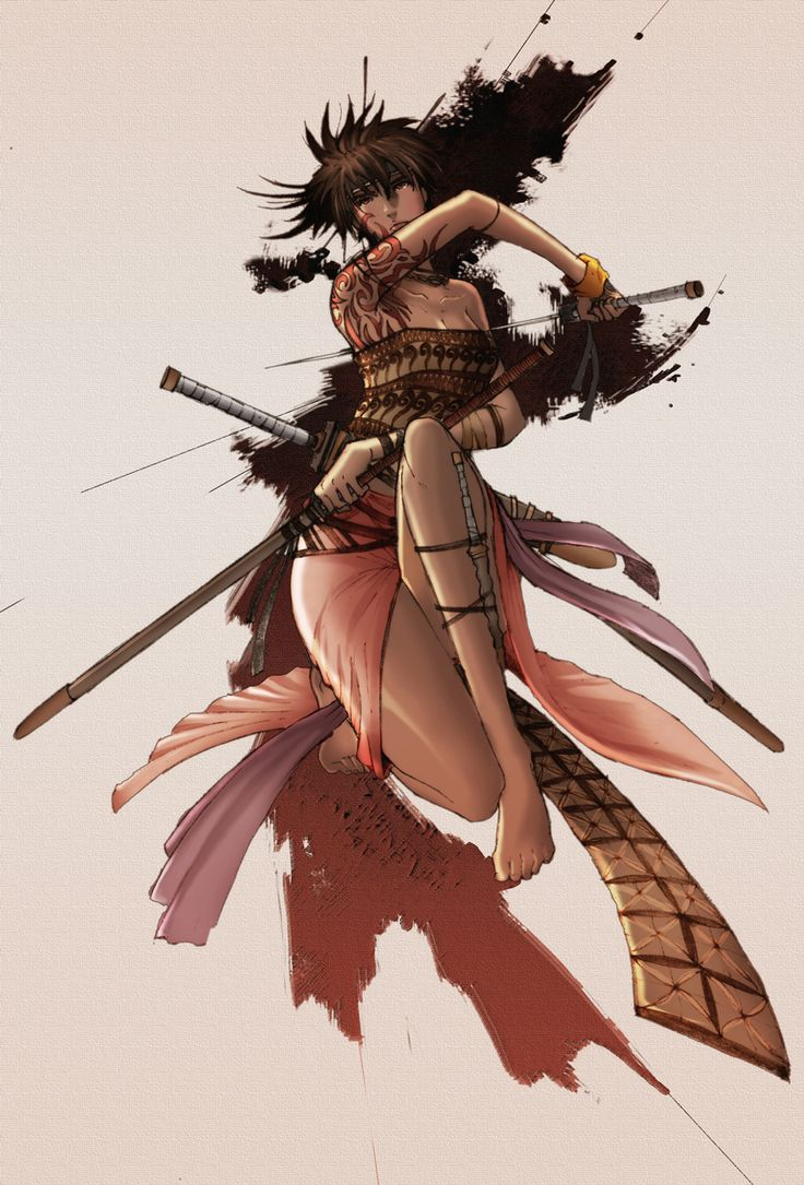 Anime Characters Katana : Best images about african anime characters on pinterest