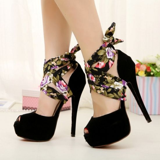 Peep Toe Ultra High Heel Casual Summer Magnificent Platform Sandals