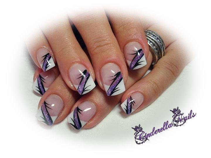 die besten 25 lila nageldesign ideen auf pinterest lila n gel entwuerfe nagelkunst und. Black Bedroom Furniture Sets. Home Design Ideas