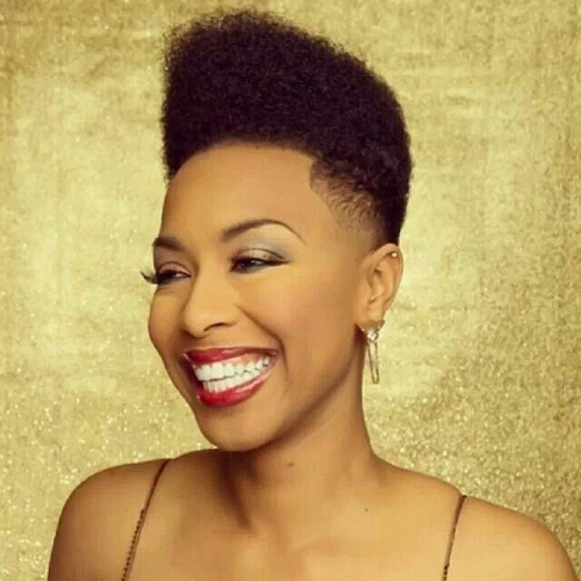 Black Women Natural Hairstyles short natural hairstyle with a headband Find This Pin And More On Tapered Natural Hair Styles By Mssunshinev