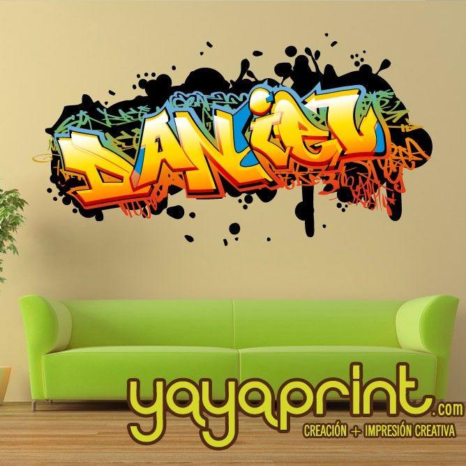 200 best images about vinilos pared decoraci n yayaprint - Decoracion de paredes con vinilos ...