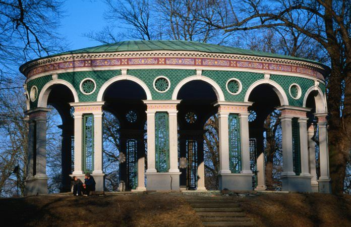 <p>Another of Stockholm's lovely green pleasure gardens, Haga Park also…