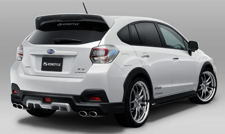 subaru xv crosstrek bodykit subaru pinterest. Black Bedroom Furniture Sets. Home Design Ideas