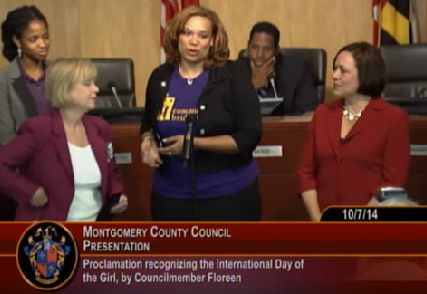 Proclamation for International Girl Day.