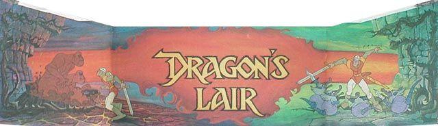 Dragon's Lair - marquee - (1983) -  #oldschool #arcade #retrogaming #marquees