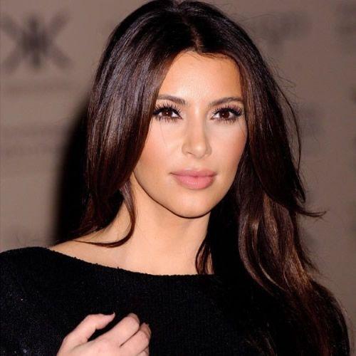 Kim Kardashian Braune Haare | Braune Haare | Chestnut ...