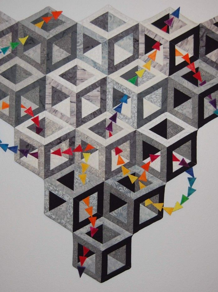 Found in ABC 3-D Tumbling Blocks... and More! page 44 - Hollow Cube by Ruth Ann