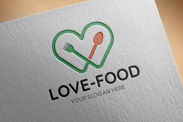 Love Food Restaurant Eating Cafe Dining Nutrition Branding Marketing Logo Design Love Food Restau In 2020 With Images Nutrition Branding Marketing Logo Design Nutrition Logo