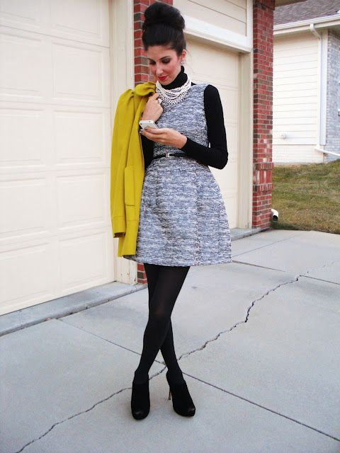 37 best images about UNDER LAYERING on Pinterest | How to wear Sleeveless tunic and Under dress