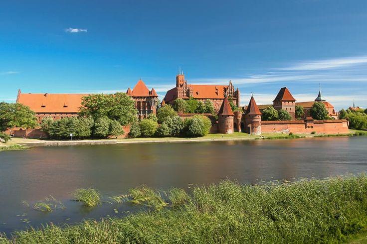 The Marienburg in Malbork, P