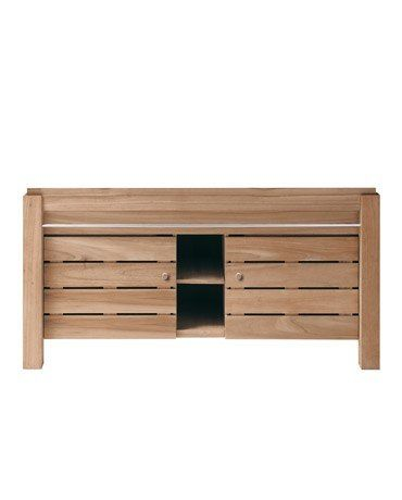 Large Double Oak Basin Unit | Oak | Indigenous