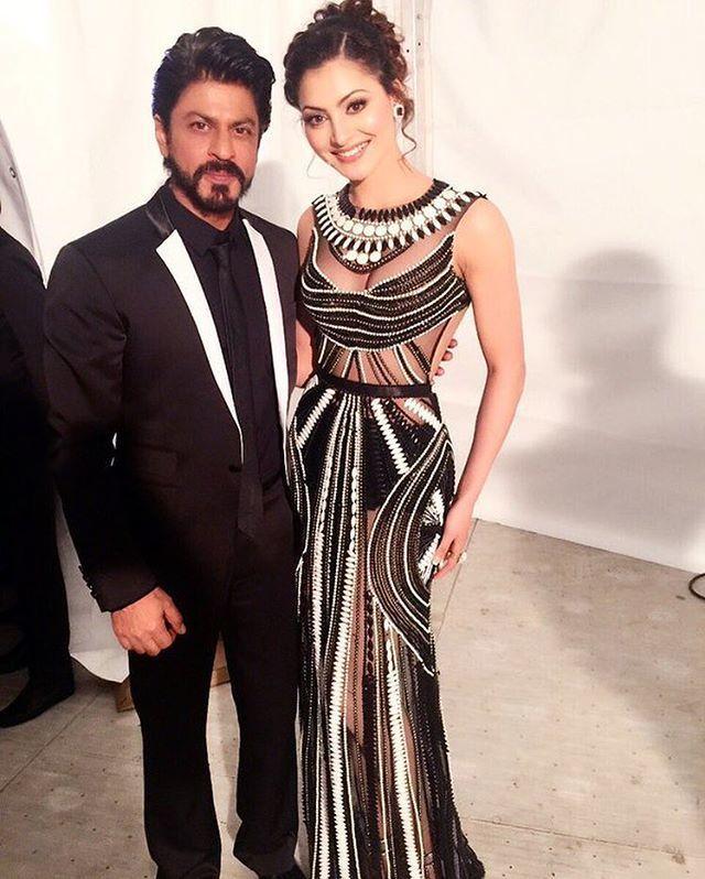 SRK with Beauty Urvashi Rautela