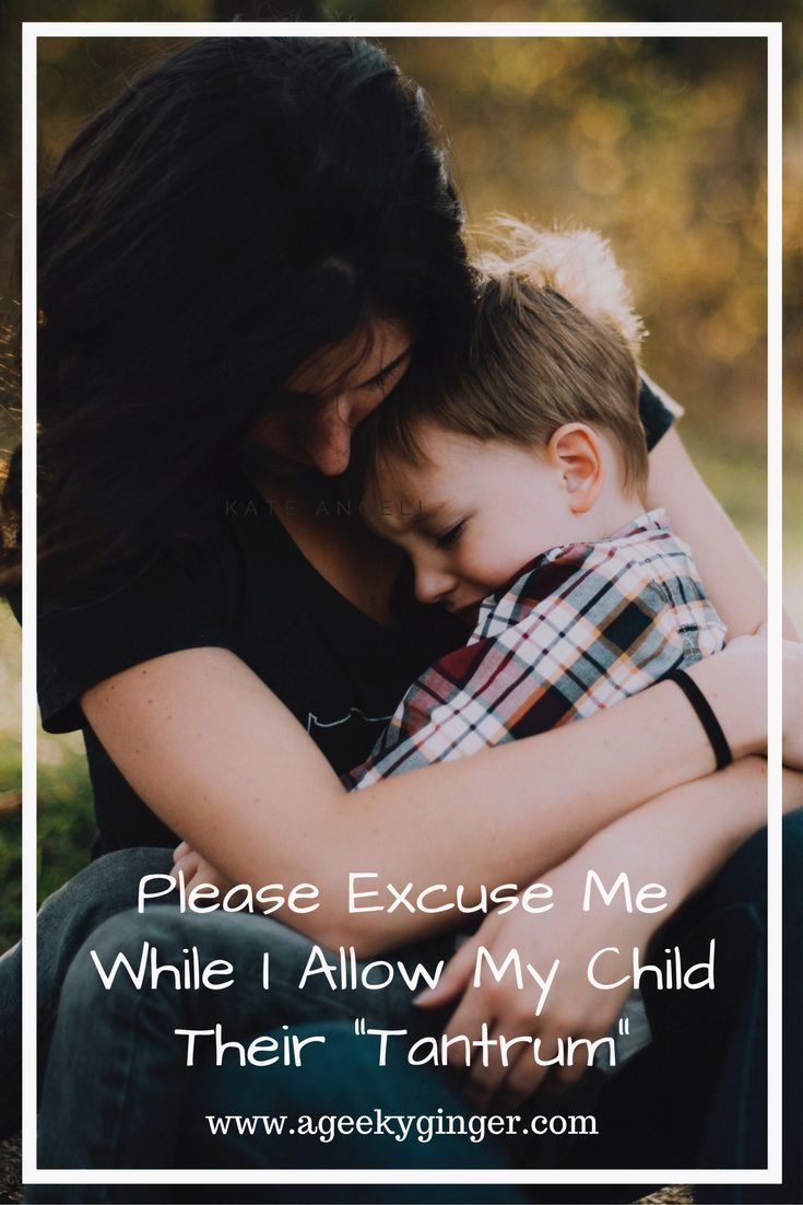 """Allowing my child to have their """"tantrum"""", is just one of the many ways I show them my love. Find out what that means here.."""