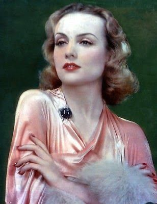 Carole Lombard color | ImagineMDD: Sapphires Old Hollywood and Now Girls Best Friend